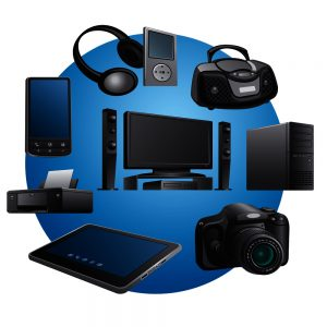 electronics appliances icons